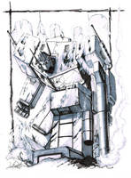 Prime Rising commission by LivioRamondelli