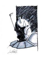 Captain Rex head sketch by LivioRamondelli