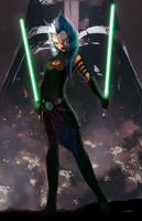 Ahsoka Tano by LivioRamondelli