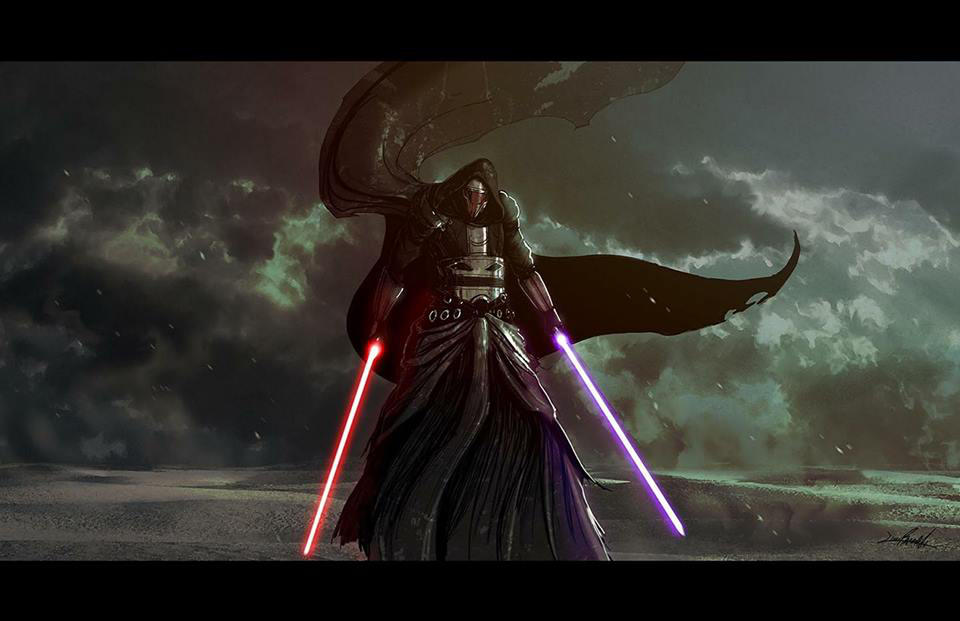Darth Revan by LivioRamondelli