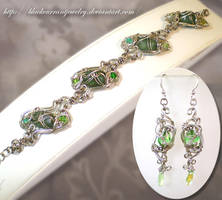 Princess in Green by blackcurrantjewelry