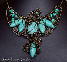 Phoenix II by blackcurrantjewelry