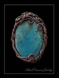 Ocean Pendant by blackcurrantjewelry