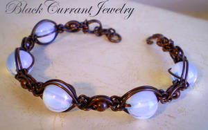Opalite Bracelet by blackcurrantjewelry