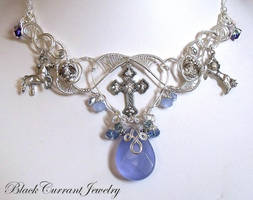 Celtic Necklace by blackcurrantjewelry