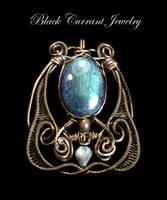Mystical Glow by blackcurrantjewelry