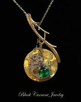 Steampunk Fruit by blackcurrantjewelry