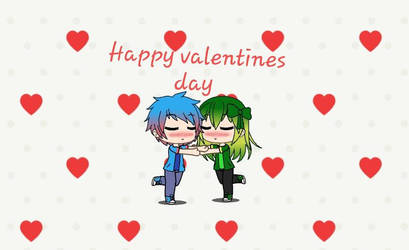 Happy Valentines day With Thomily by supertoad129