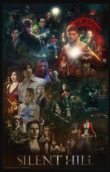 Silent Hill Saga by marblegallery7