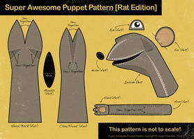 Super Awesome Puppet Pattern by JasonChandler