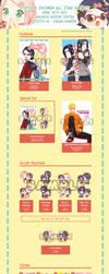 OTPcon ~ Shonen All Star 2017 Catalogue by SmartChocoBear