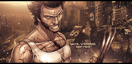 Wolverine by StraightEdgeFan783