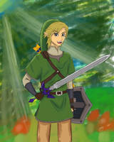Skyward sword Link by Tirilno