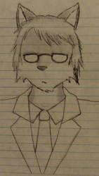 Matthias in a suit by ArcNine