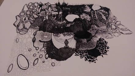 Alien Landscape (concept) by ArcNine
