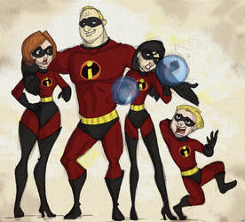 The Incredibles by Chansey123