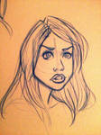 Rose Tyler Sketch 2 by Chansey123