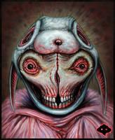 Antboy Bunny Head (Digital) by Fleshgoredon
