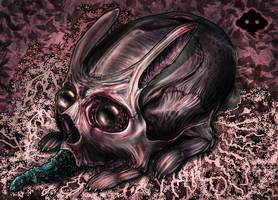 Skullbunny by Fleshgoredon