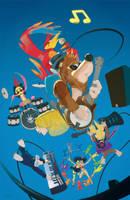 Banjo Band-Kazooie Kut by thatLD