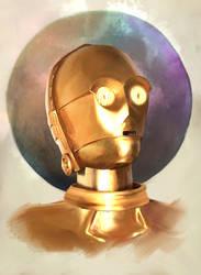 C-3PO by JamesCuda