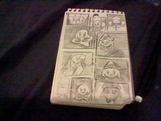 Notebook doodles 8/24/2017 by Mightydein