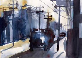 street by Jelena-Misljenovic