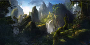 Environment concept by Reinmar84