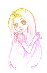 Rapunzel -my style- by firehorse6