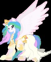 Celestia, Goddess of Harmony by halotheme