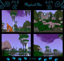 Mystical Glen by Tiyku