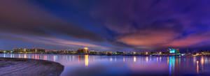 San Diego Skyline HDR 02 by Creative--Dragon