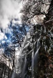 Bad Urach Ice Falls HDR 02 by Creative--Dragon