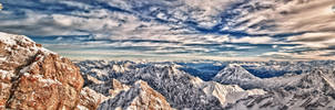 Zugspitze Vista 01 HDR by Creative--Dragon