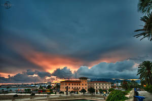 Sunset over Palma by Creative--Dragon