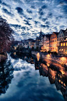 Reflections of Tubingen 2 by Creative--Dragon
