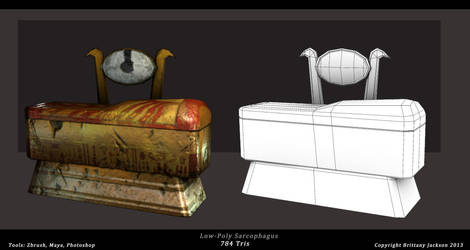 Prop_ Sarcophagus by IllysianB