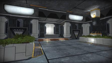 Level ReSkin WIP : SciFi by IllysianB