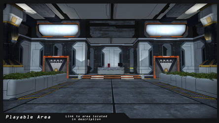 SciFi Area : Finished with Playable Build/Link by IllysianB