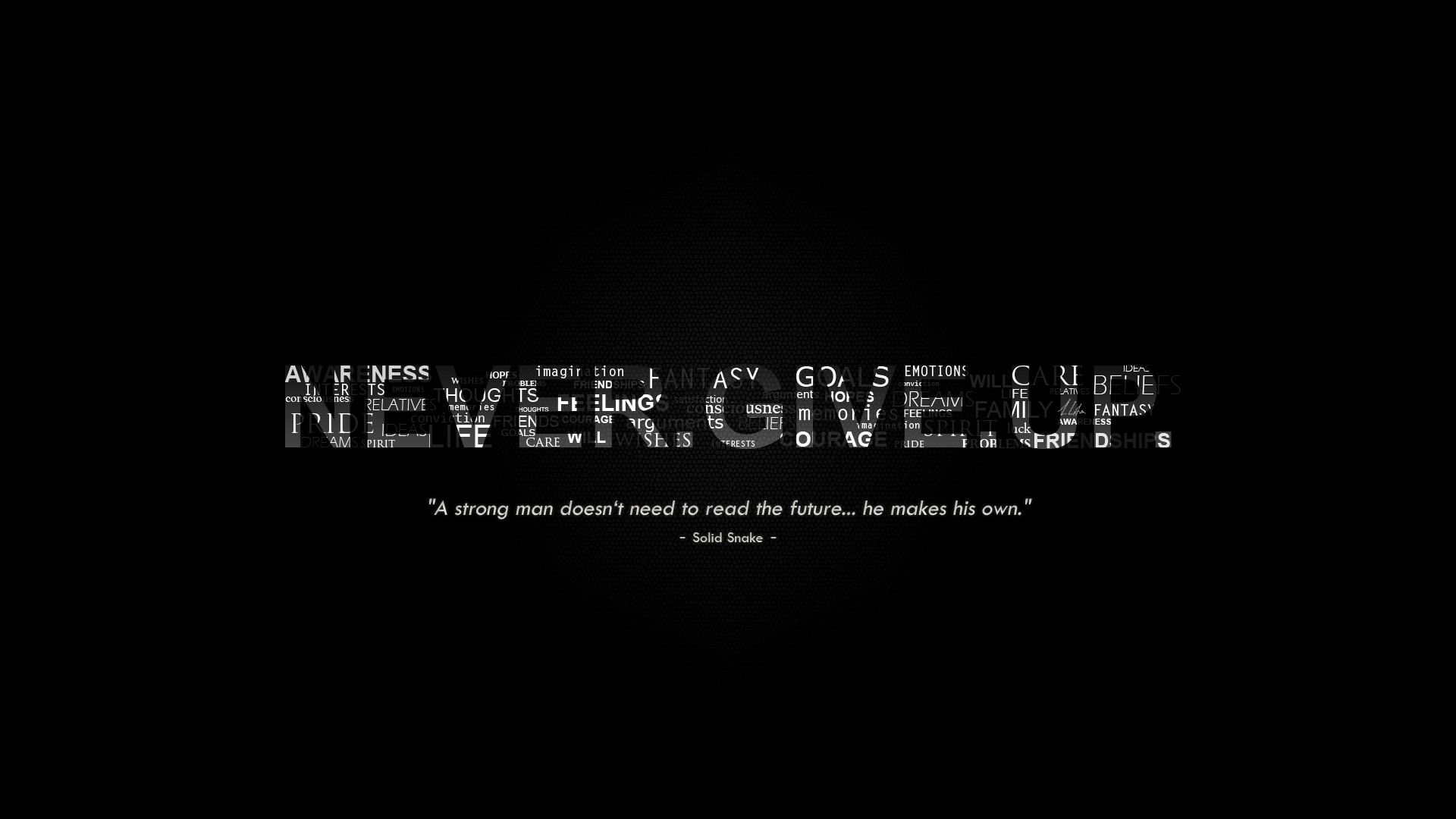 NEVER.GIVE.UP. by AtillaLifeson