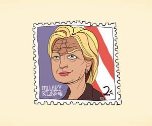 Hillary Klingon by overkill79