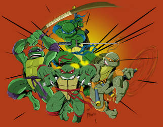 TMNT 3 by Spidey0107