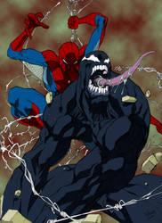 Spidey vs Venom by Spidey0107