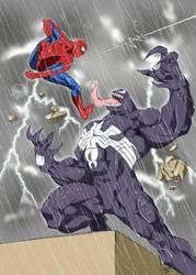 Spidey vs Venom 2 by Spidey0107