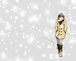A Walk In The Snow by reversenorm
