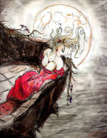 Moon Girl by reversenorm