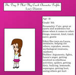 Character Profile- Lucy by anilovespeace