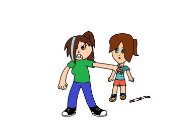 Danielle and Gabriella Collab by anilovespeace