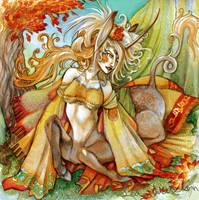 orange autumn-revamp by blotchy-the-squid