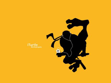 iTurtle :: Michelangelo by ILLuZioNx7